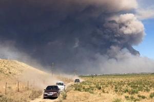 Казахстан, взрыв