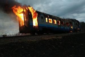 Ровенская, пожар