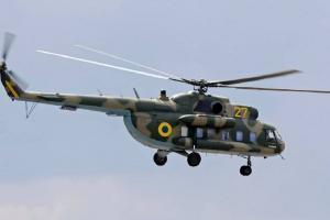 Ровенская, крушение вертолета