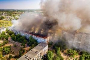 Херсонская, пожар