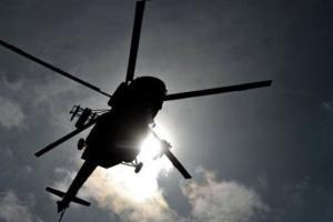 Львовская, крушение вертолета