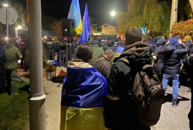 Козин, акция протеста