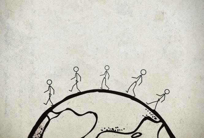 сколько шагов делает человек за всю жизнь