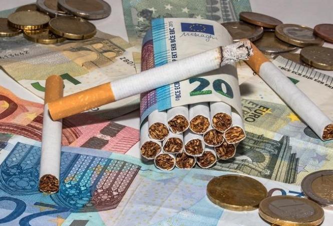 Украина, цена на сигареты