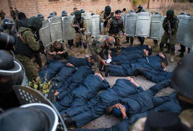Венесуэла, бунт в колонии