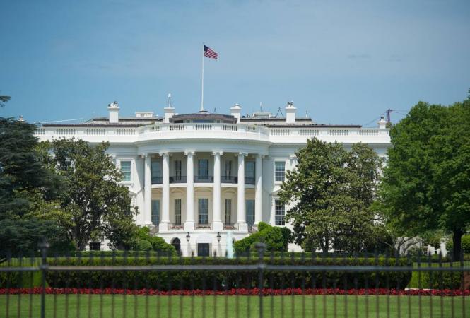 Белый дом, стрельба
