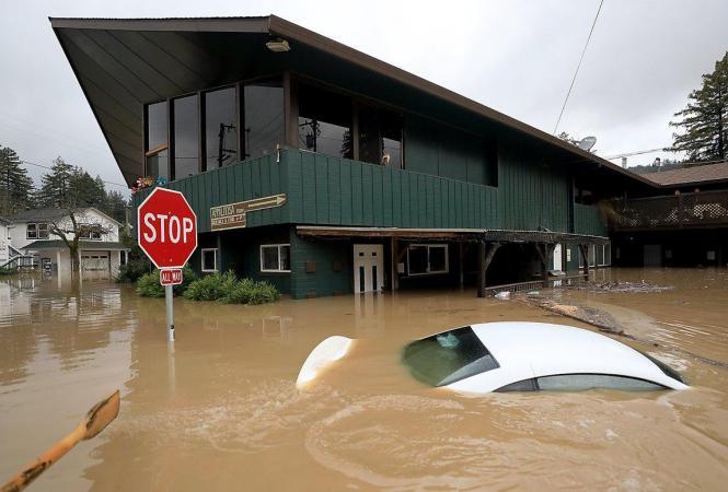 Наводнение в Калифорнии