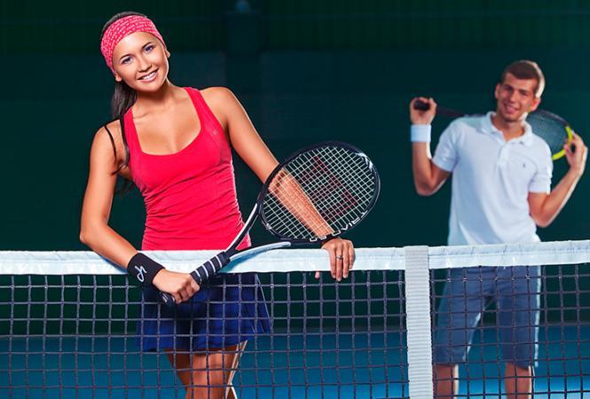 экипировка для игры в теннис