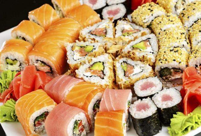 доставка суши на дом или в офис