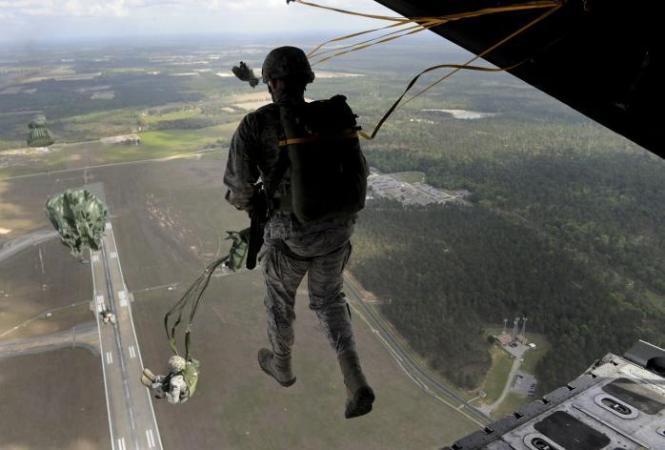 военные учения, происшествие