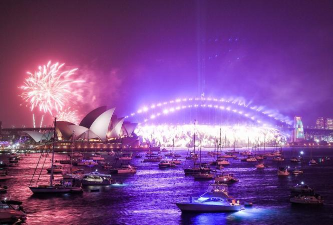 новый-год-австралия