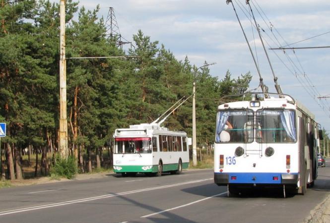 лисичанск северодонецк троллейбусы