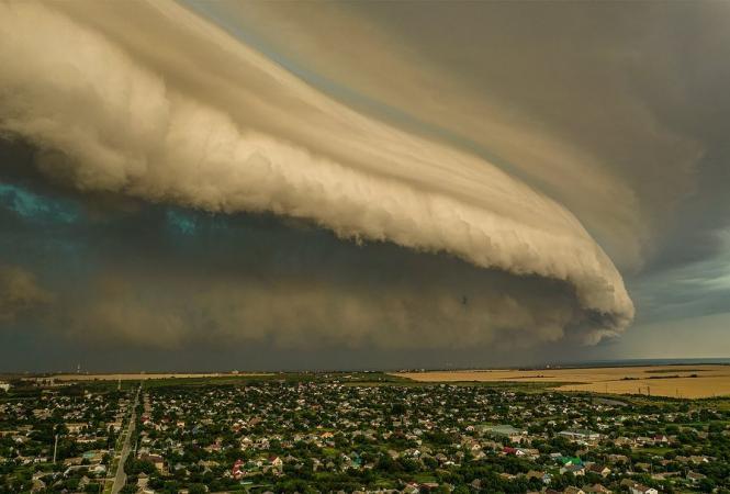воздушное цунами