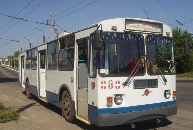 троллейбус-лисичанск