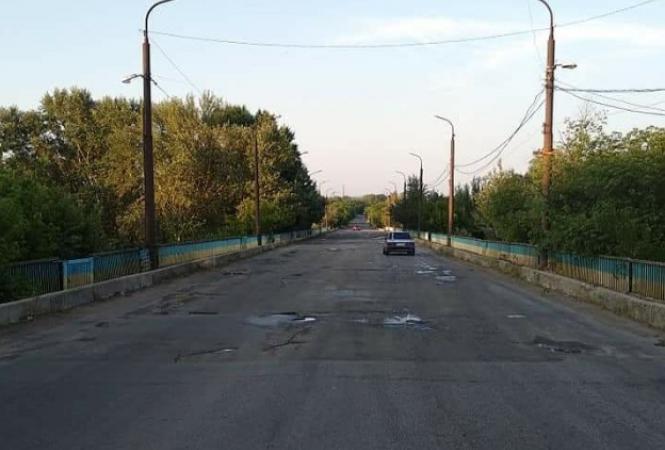 пролетарский мост лисичанск