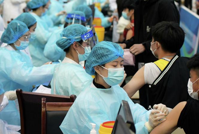 вакцинация в китае