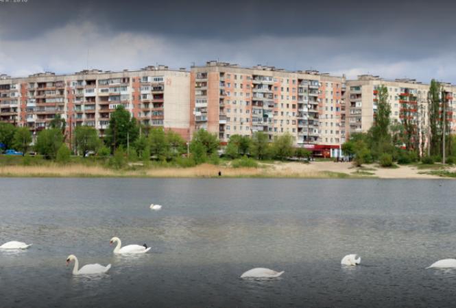 чистое озеро в северодонецке