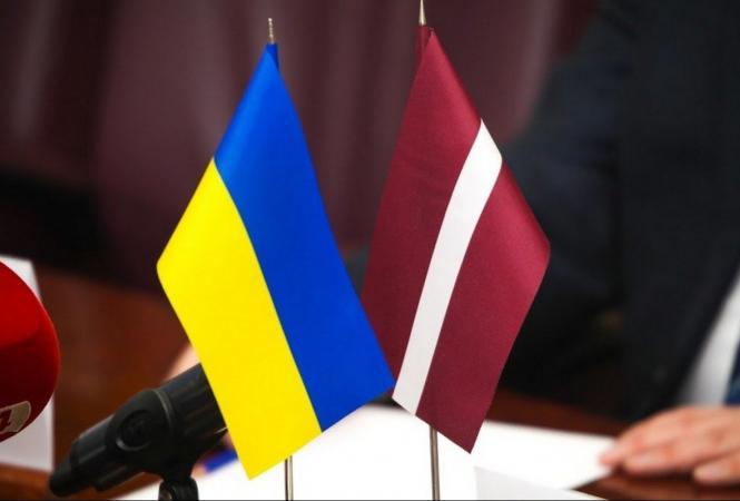 украина и латвия