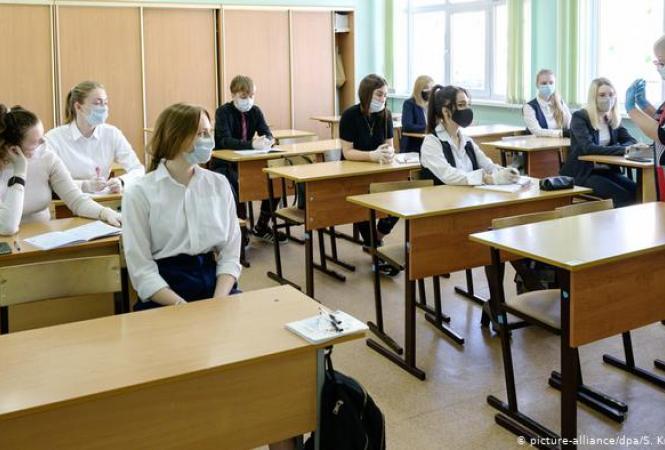 вирус школа