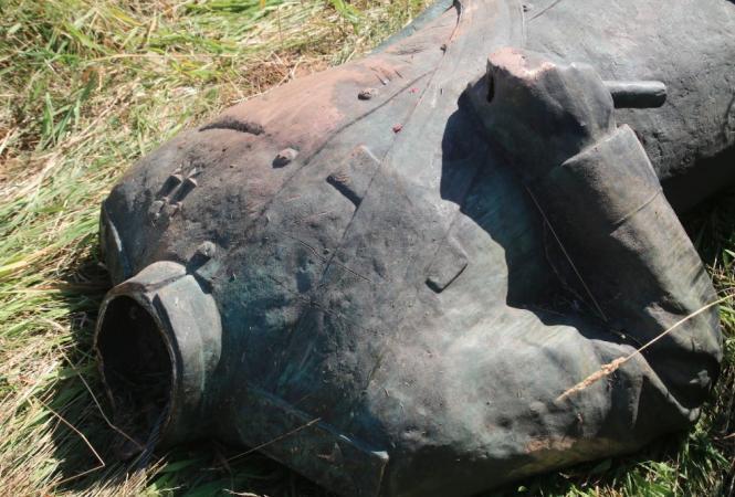 В Польше из музея под открытым небом украли и обезглавили скульптуру маршала Рокоссовского