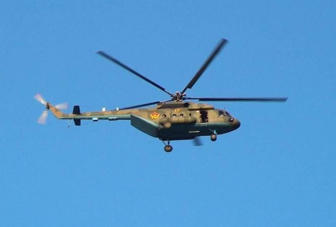 Казахстан, крушение вертолета