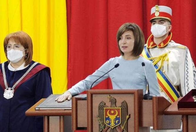 Майя Санду принесла присягу президента Молдовы