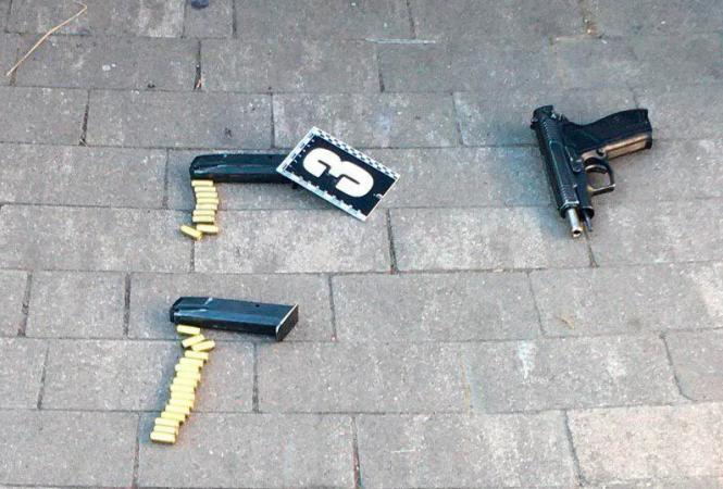Киев, хулиганство