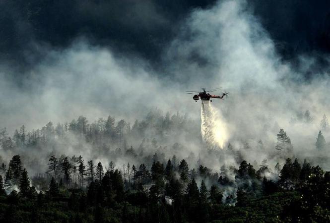 Мексика, крушение вертолета