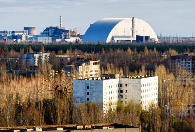 Чернобыльская АЭС перешла на особый режим работы