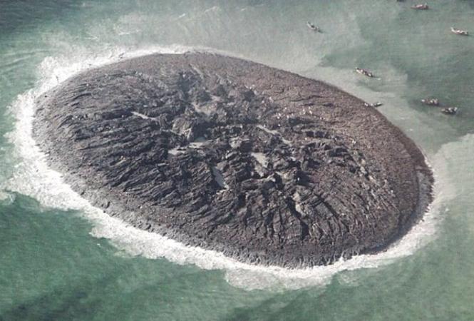 В Аравийском море исчез остров