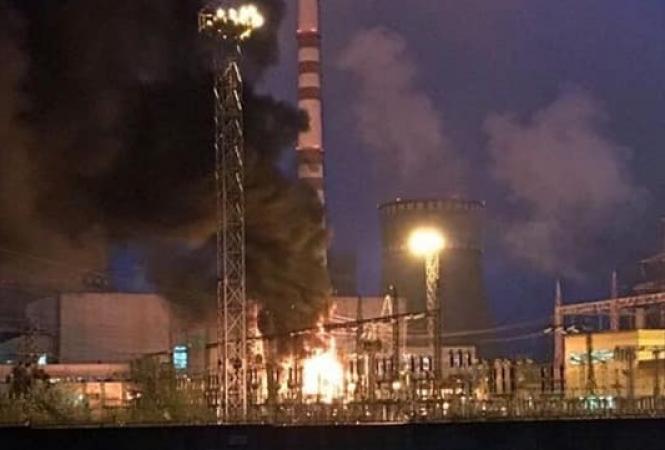 Ровенская АЭС, пожар