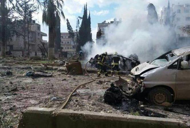 Сирия, теракт