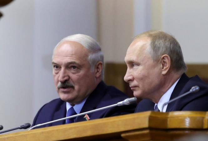 Состоялисьтелефонные переговоры междуПутиным и Лукашенко