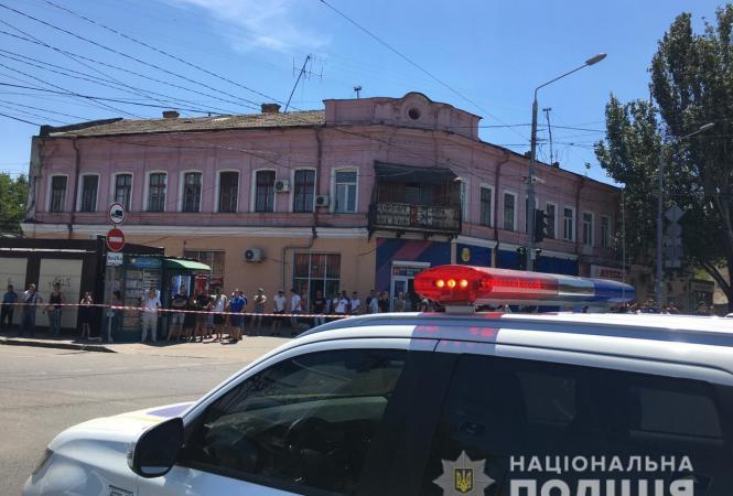 Одесса, полиция, заложники