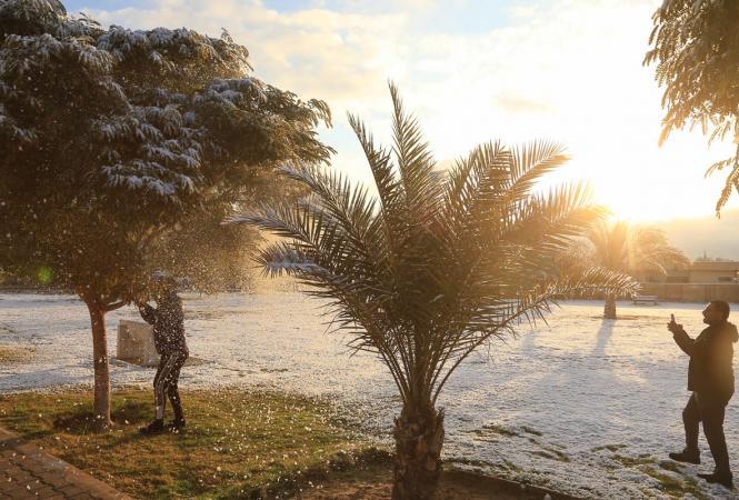 Багдад, снег