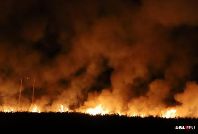 Россия, Ростовская, пожар