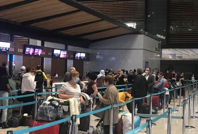 Из Турции эвакуированы более сотни граждан Украины