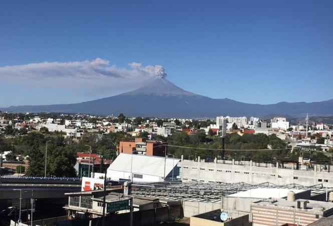 Мексика, вулкан