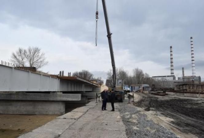Северодонецк, Лисичанск, мост