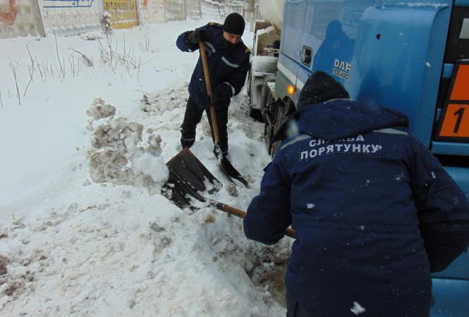 Луганская, снегопад, ГСЧС