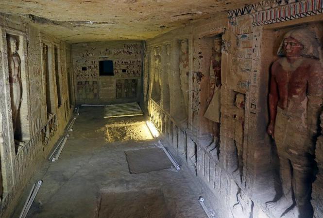 Египет, гробница
