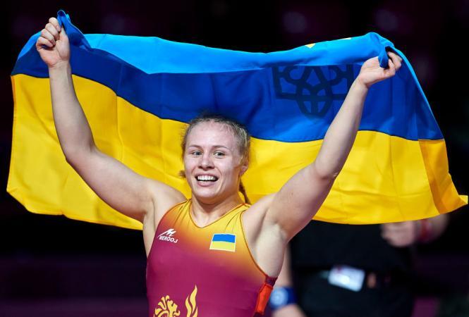 Украинки завоевали шесть медалей на ЧЕ по спортивной борьбе