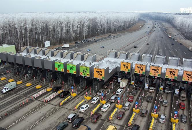 В Украине установилистоимость проезда по платным дорогам