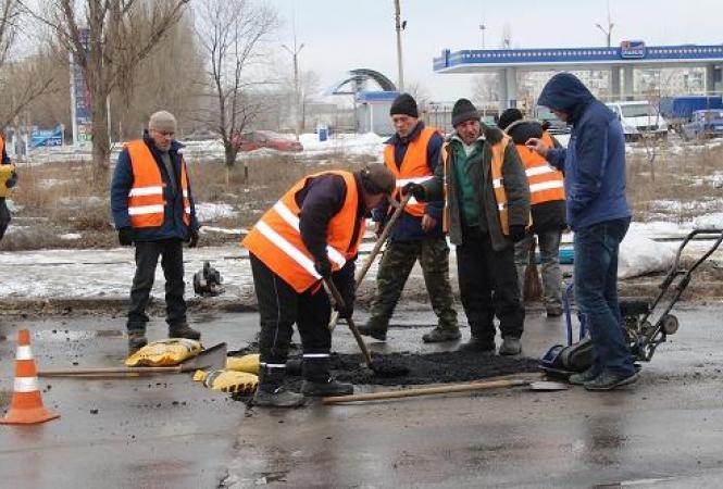 Северодонецк, ремонт дорог