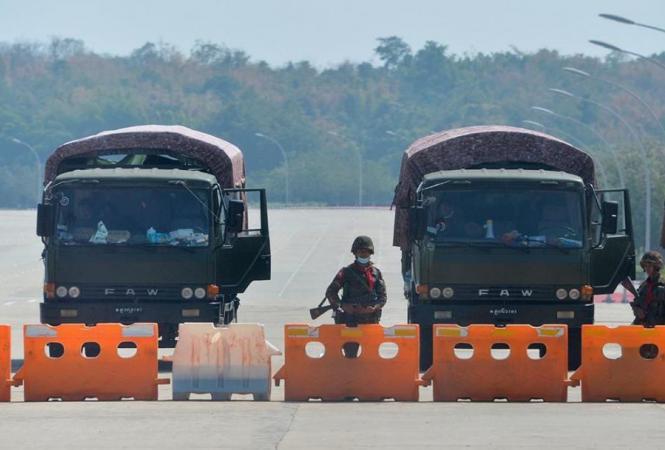 Военный переворот вМьянме