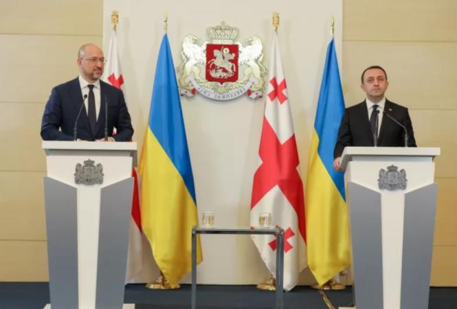 Украина и Грузия договорились активизировать торгово-экономическое сотрудничество