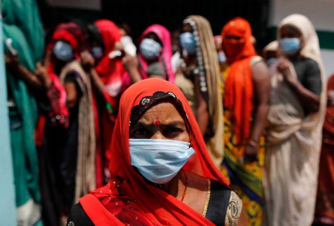 Индия, коронавирус