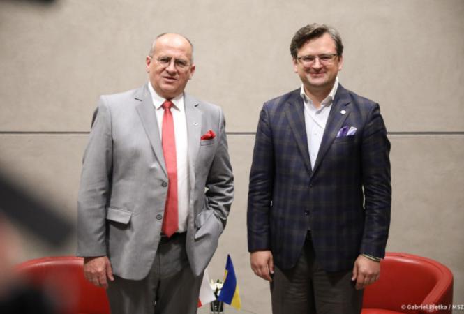 Дмитрий Кулеба и Збигнев Рау