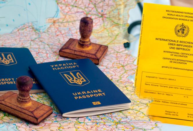 Украинские COVID-сертификаты