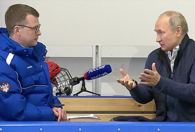 Путин, интервью